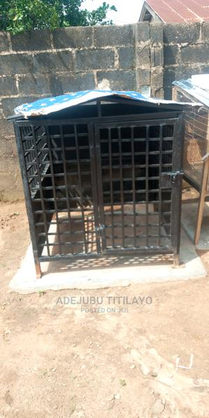 Iron Dog Cage | Pet's Accessories for sale in Oyo State, Ibadan
