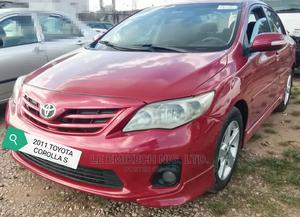 Toyota Corolla 2011 Red | Cars for sale in Abuja (FCT) State, Gwagwalada