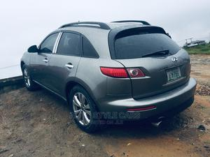 Infiniti FX35 2004 Base 4x4 (3.5L 6cyl 5A) Gray   Cars for sale in Rivers State, Oyigbo