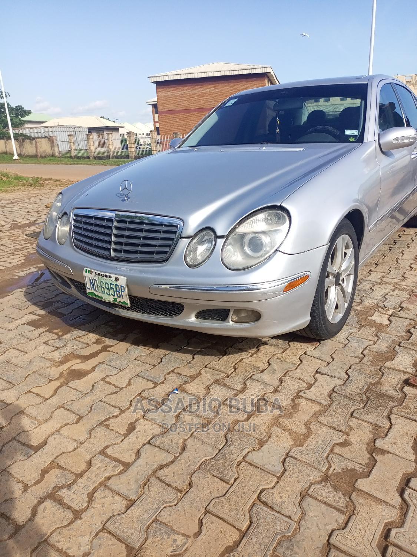 Mercedes-Benz E320 2005 Silver