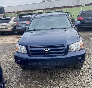 Toyota Highlander 2006 Blue | Cars for sale in Lagos State, Agege
