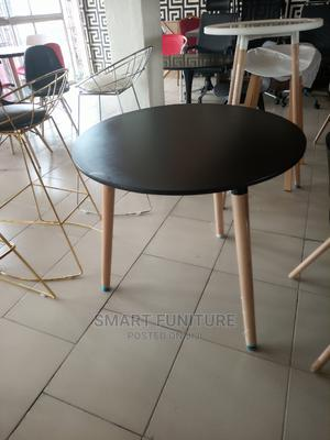 Best Quality Wooden Leg Round Table   Furniture for sale in Lagos State, Ikeja