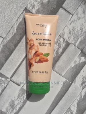 Love Nature Almond Oil Body Lotion | Skin Care for sale in Lagos State, Ikeja