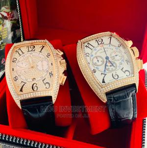 Frank Muller Leather Watch | Watches for sale in Lagos State, Lagos Island (Eko)