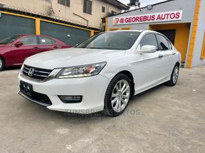 Honda Accord 2013 White   Cars for sale in Lagos State, Ogba