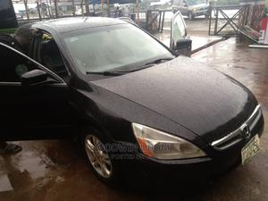 Honda Accord 2006 2.4 Type S Automatic Black | Cars for sale in Rivers State, Port-Harcourt