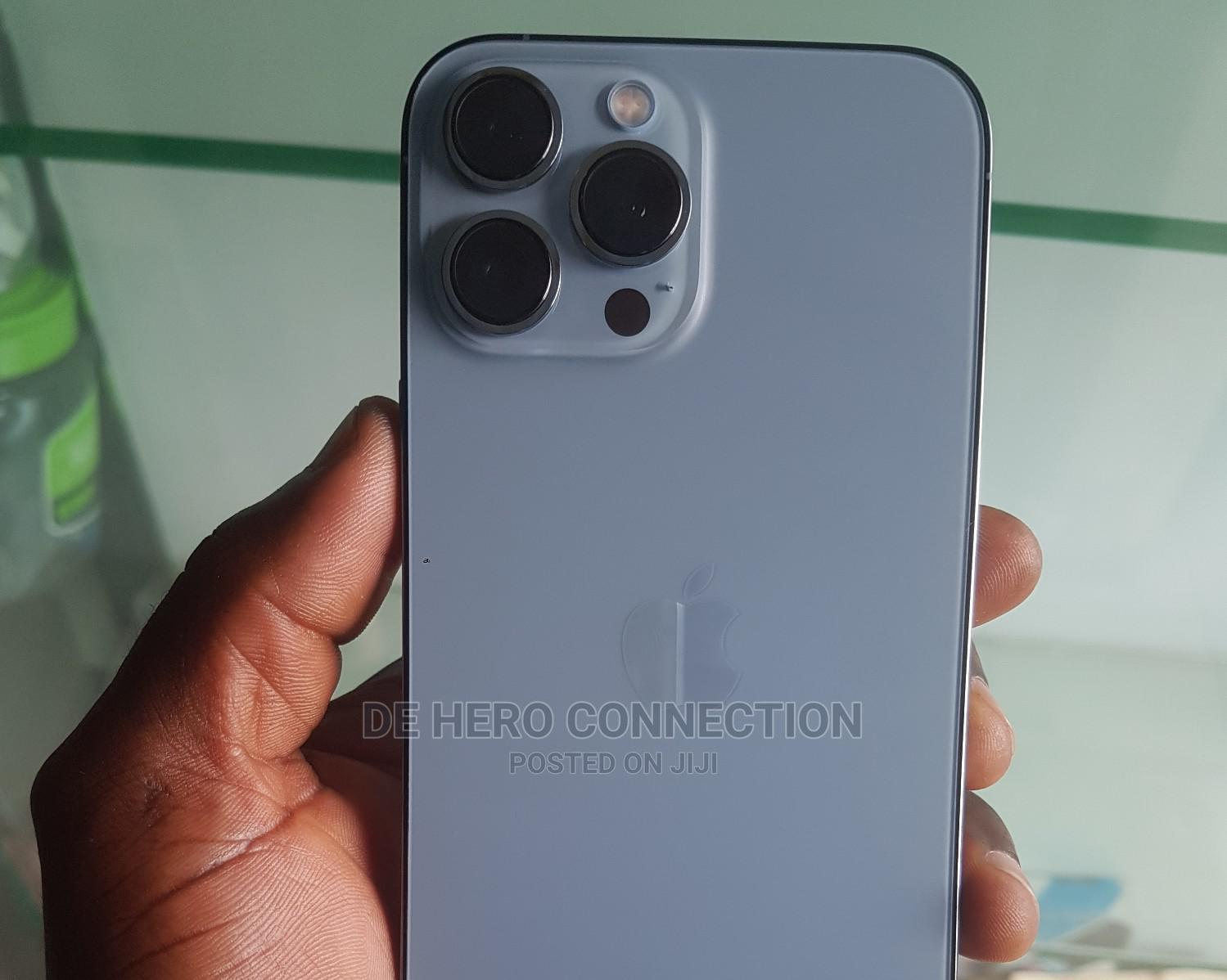 New Apple iPhone 13 Pro Max 256 GB Blue