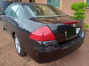 Honda Accord 2007 2.0 Comfort Automatic Black   Cars for sale in Lagos State, Ojodu