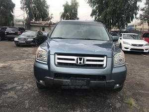 Honda Pilot 2006 EX 4x2 (3.5L 6cyl 5A) Green   Cars for sale in Lagos State, Maryland