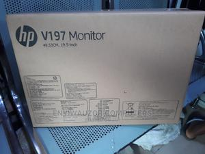 HP V197 Monitor   Computer Monitors for sale in Lagos State, Ikeja