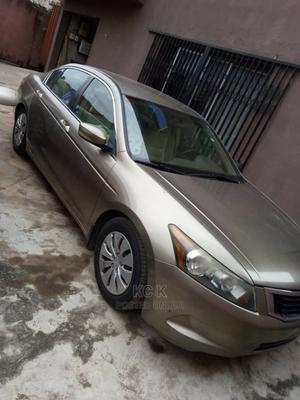 Honda Accord 2008 2.4 EX-L Automatic Brown | Cars for sale in Lagos State, Ikeja