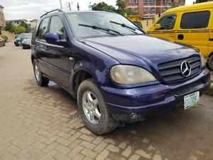 Mercedes-Benz M Class 2001 ML 320 Blue   Cars for sale in Lagos State, Ogba