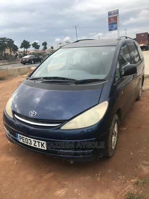 Toyota Previa 2003 2.4 Linea Luna Blue   Cars for sale in Lagos State, Agege
