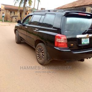 Toyota Highlander 2002 Black   Cars for sale in Oyo State, Ogbomosho North