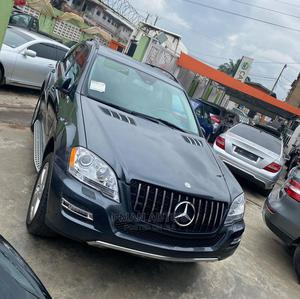 Mercedes-Benz M Class 2011 ML 350 4Matic Gray | Cars for sale in Lagos State, Agege