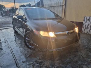 Honda Civic 2008 Black   Cars for sale in Lagos State, Ipaja