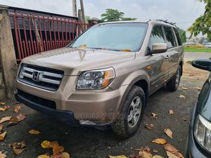 Honda Pilot 2007 EX 4x2 (3.5L 6cyl 5A) Brown   Cars for sale in Lagos State, Ikeja