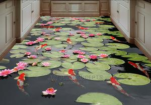 Water Lilly 3D Epoxy Floor Finishings   Wedding Venues & Services for sale in Lagos State, Epe