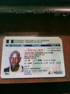 Eng Kola Ogunyemi | Driver CVs for sale in Lagos State, Agege