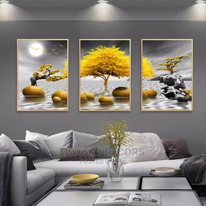 Christmas Golden Tree Wall Art | Home Accessories for sale in Ebonyi State, Abakaliki