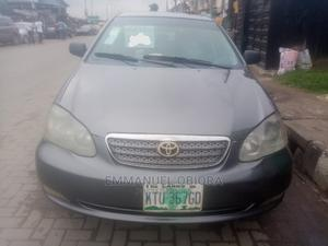 Toyota Corolla 2005 Sedan Automatic Gray   Cars for sale in Lagos State, Surulere