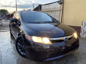 Honda Civic 2008 Black | Cars for sale in Lagos State, Alimosho
