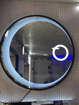 Led Round Mirror With Frame | Home Accessories for sale in Lagos State, Orile