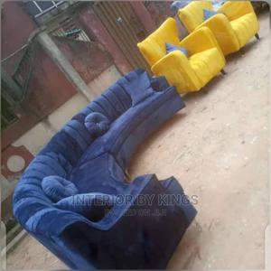 U-Shaped Sofa With Two Arm Chairs Can Come in Colors   Furniture for sale in Lagos State, Magodo