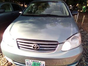 Toyota Corolla 2003 Sedan Automatic Silver | Cars for sale in Abuja (FCT) State, Gwarinpa