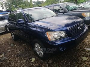 Toyota Highlander 2003 Blue   Cars for sale in Abuja (FCT) State, Gwarinpa