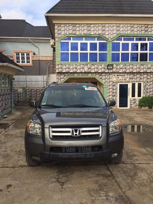Honda Pilot 2007 EX-L 4x4 (3.5L 6cyl 5A) Gray | Cars for sale in Lagos State, Ajah