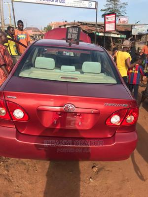 Toyota Corolla 2007 Red | Cars for sale in Lagos State, Ojodu