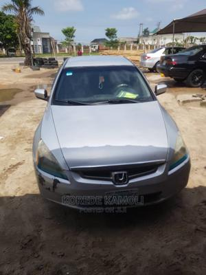 Honda Accord 2005 Automatic Silver | Cars for sale in Lagos State, Ibeju