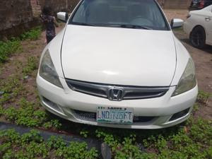 Honda Accord 2007 Coupe EX-L V-6 Automatic White | Cars for sale in Oyo State, Ibadan