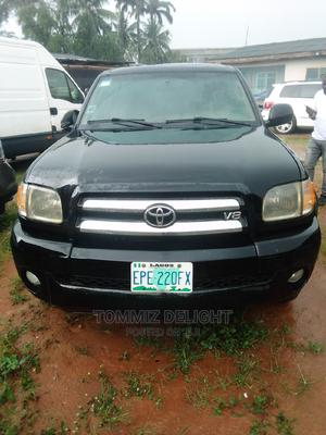 Toyota Tundra 2005 Automatic Black   Cars for sale in Lagos State, Ogba