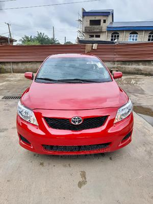 Toyota Corolla 2009 Red   Cars for sale in Lagos State, Alimosho