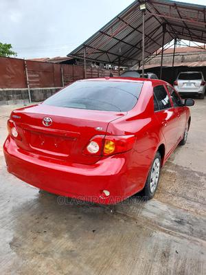 Toyota Corolla 2009 Red | Cars for sale in Lagos State, Alimosho
