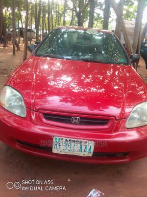 Honda Civic 2002 Red | Cars for sale in Abuja (FCT) State, Gudu