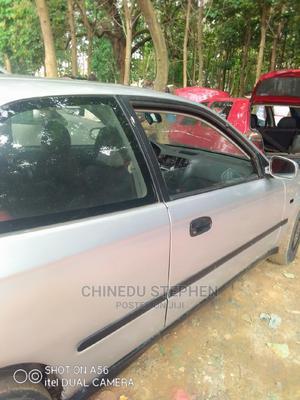 Honda Civic 1999 CX 2dr Hatchback Silver | Cars for sale in Abuja (FCT) State, Gudu