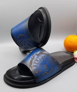 Original Berlutti Men Casual Leather Slippers Available   Shoes for sale in Lagos State, Surulere