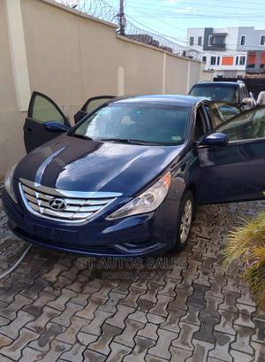 Hyundai Sonata 2011 Blue | Cars for sale in Lagos State, Ojodu