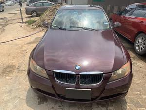 BMW 328i 2008 Burgandy | Cars for sale in Lagos State, Isolo