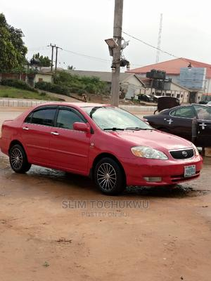 Toyota Corolla 2004 Red | Cars for sale in Imo State, Owerri