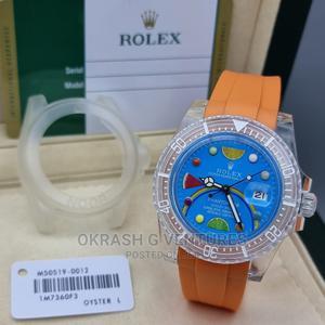 Rolex Phantom Lab Silicone Watch for Unisex   Watches for sale in Lagos State, Lagos Island (Eko)