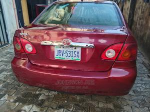 Toyota Corolla 2004 LE Red | Cars for sale in Rivers State, Obio-Akpor