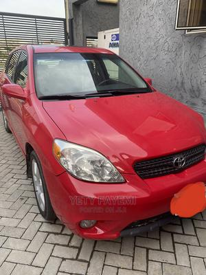 Toyota Matrix 2005 Red | Cars for sale in Lagos State, Lekki