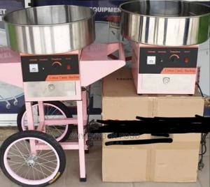 Candy Floss Machine With Cart   Restaurant & Catering Equipment for sale in Lagos State, Ojo