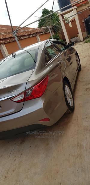 Hyundai Sonata 2014 Beige | Cars for sale in Ogun State, Abeokuta North