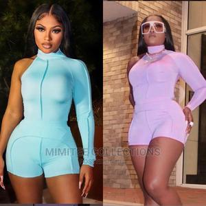 One Shoulder Long Sleeve Tight Casual Short Nd Bodycon Dress   Clothing for sale in Lagos State, Ipaja