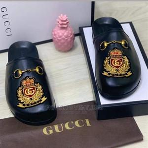 Gucci Half Leather Shoe for Men's   Shoes for sale in Lagos State, Lagos Island (Eko)